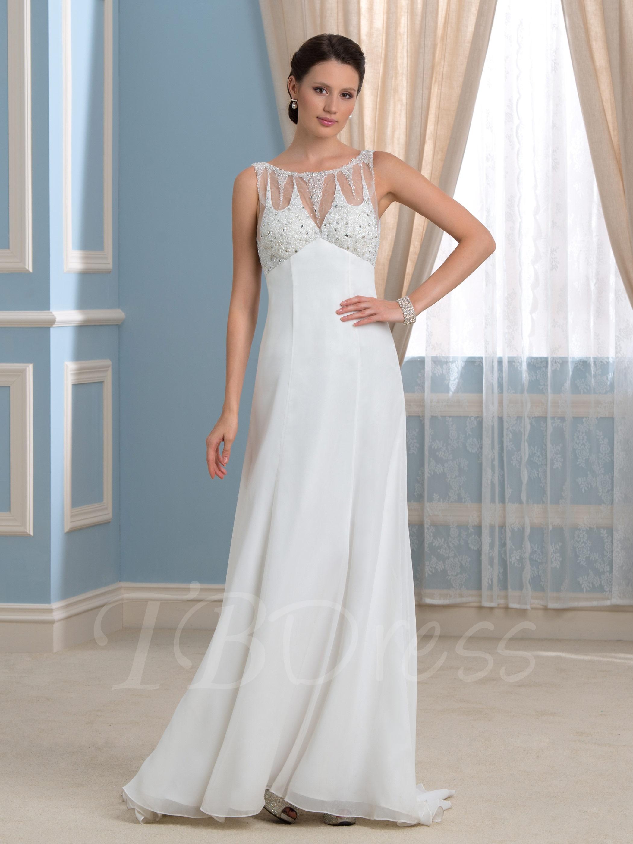 empire wedding dresses photo - 1