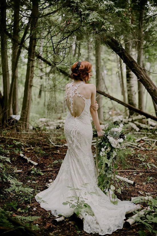 enchanted forest wedding dresses photo - 1