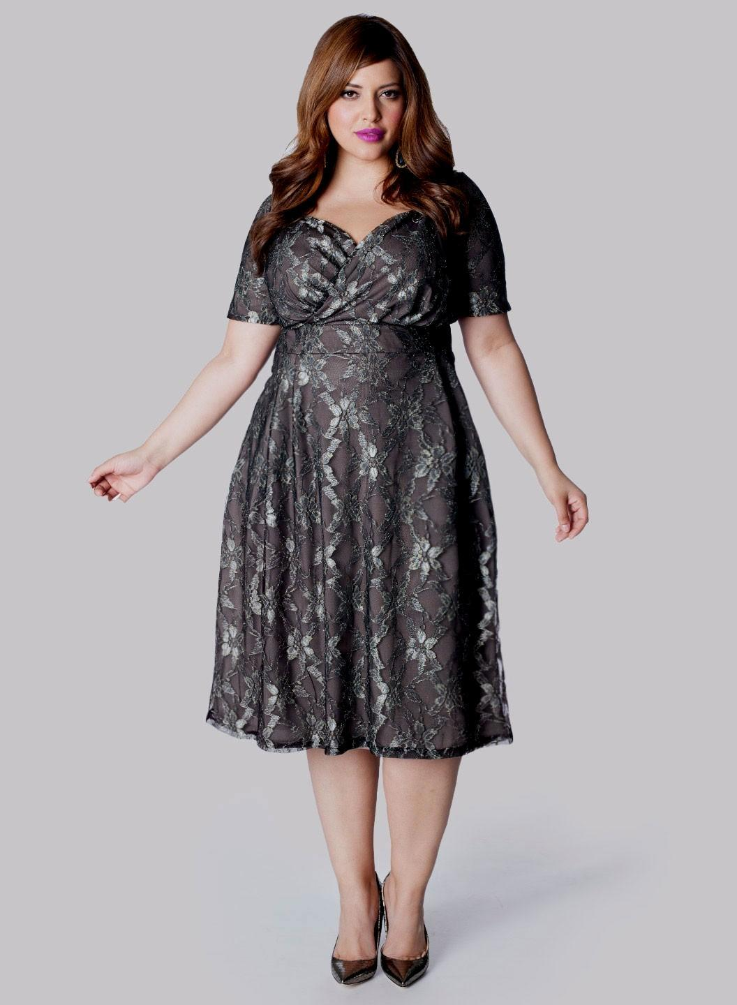 evening dresses for weddings plus size photo - 1