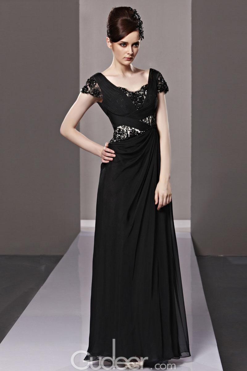 evening dresses with sleeves photo - 1