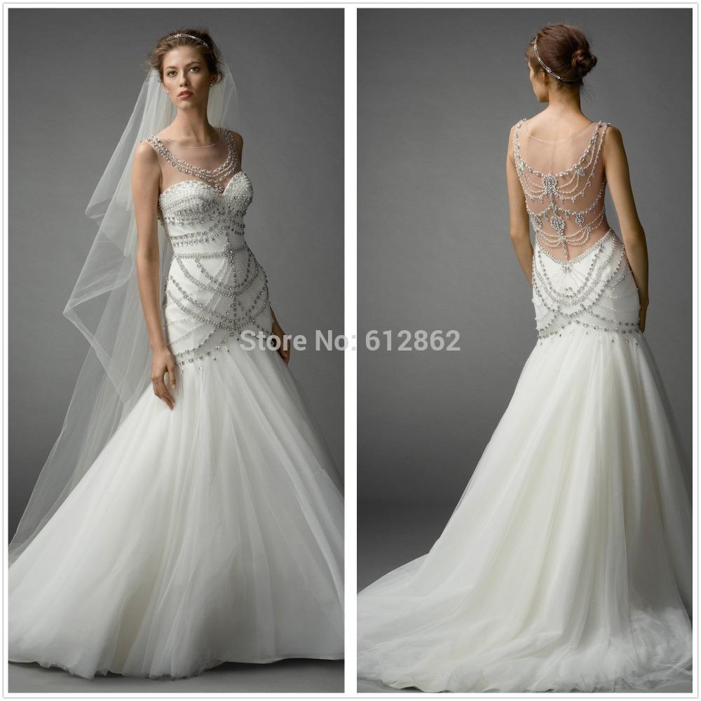 expensive mermaid wedding dresses photo - 1