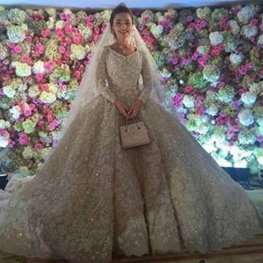 expensive wedding dresses photo - 1