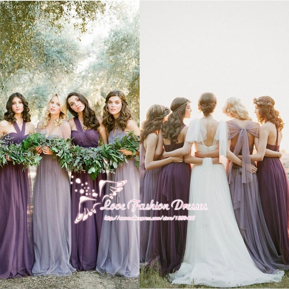 fall wedding color bridesmaid dresses photo - 1