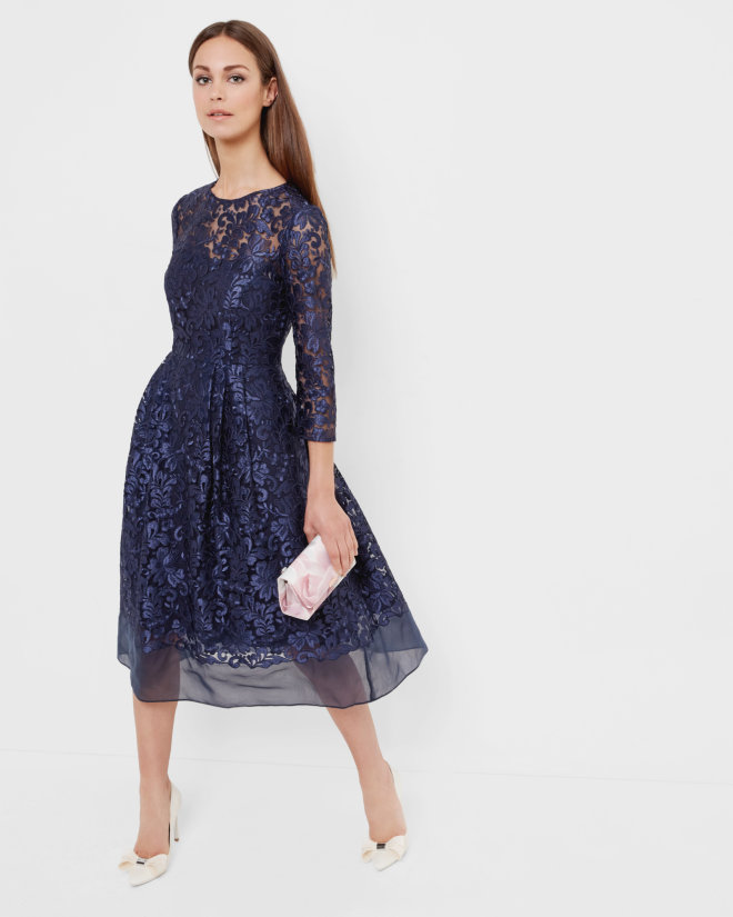 fall wedding guest dresses 2018 photo - 1