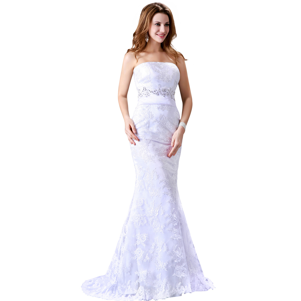 fast delivery wedding dresses photo - 1