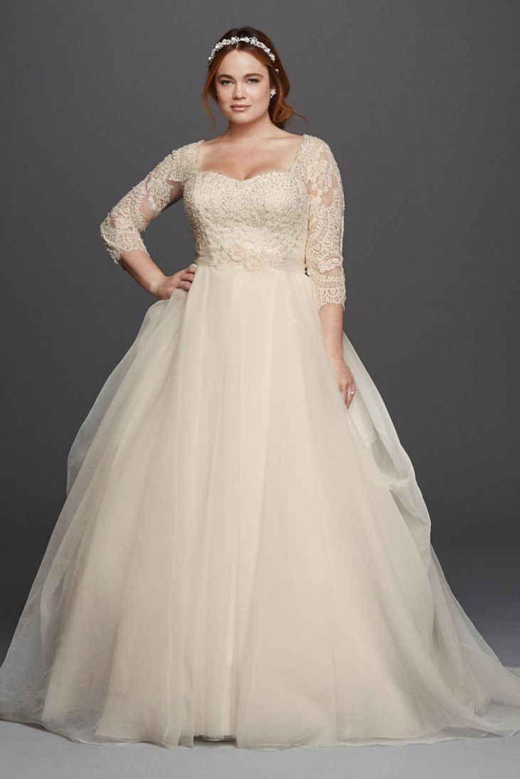 fat wedding dresses photo - 1