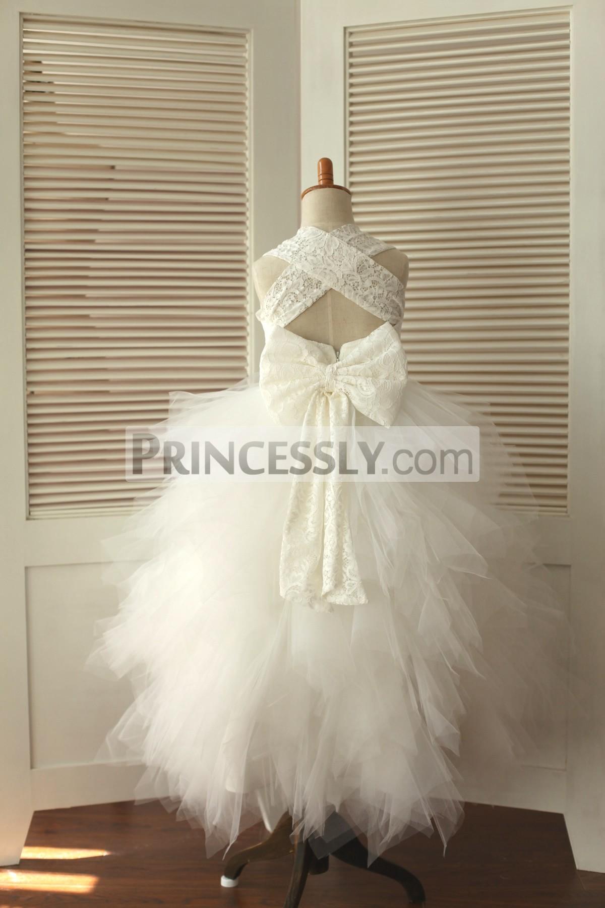 feathered wedding dresses photo - 1
