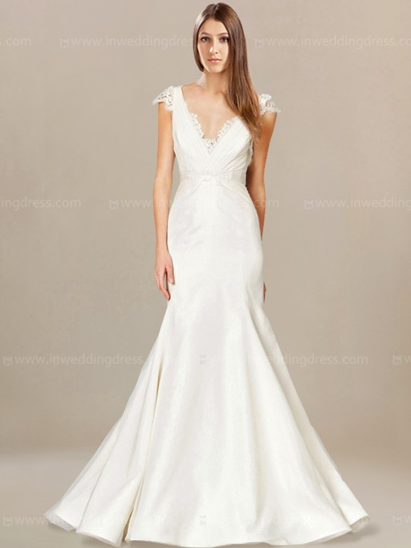 fit and flare wedding dresses photo - 1