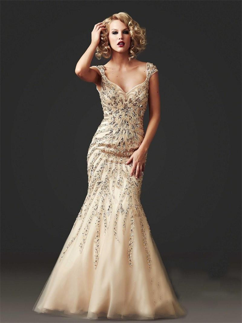 formal wedding dresses for guest photo - 1