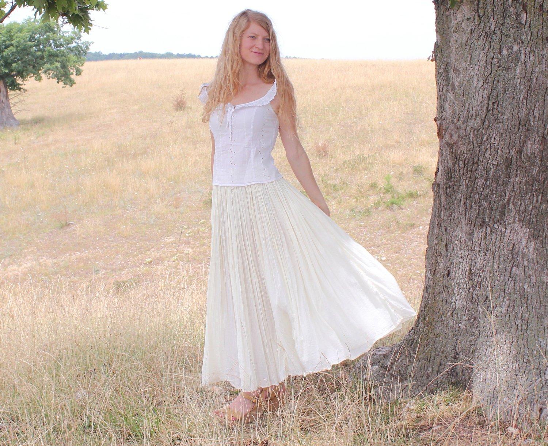 gauze wedding dresses photo - 1