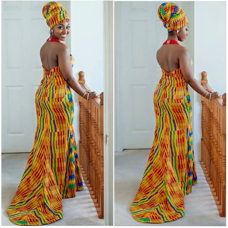 ghana wedding dresses photo - 1