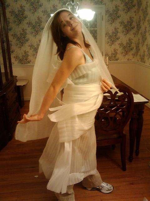 ghetto wedding dresses photo - 1