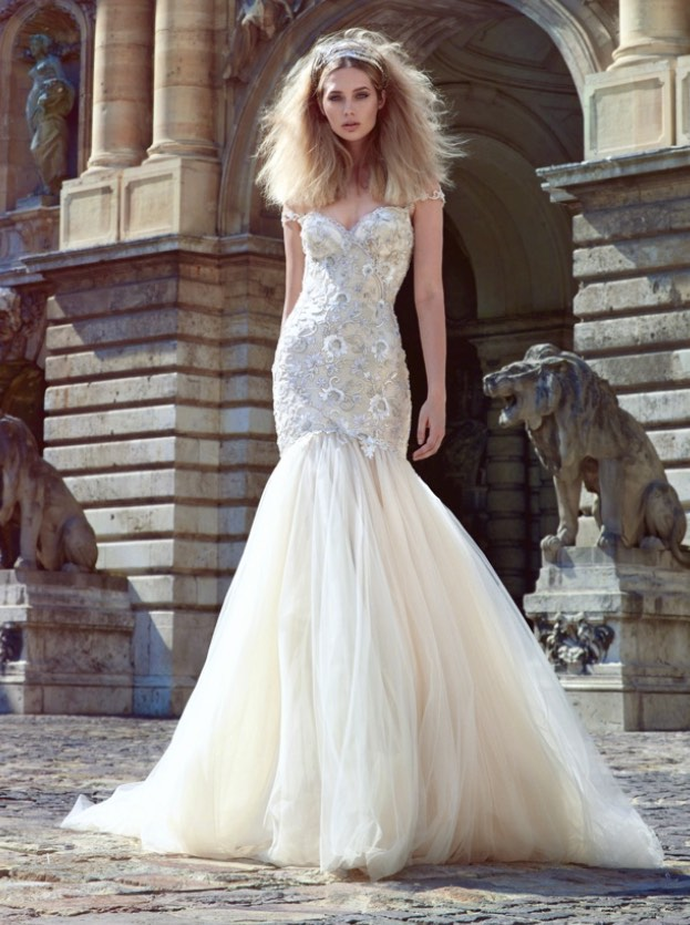 glamorous wedding dresses photo - 1