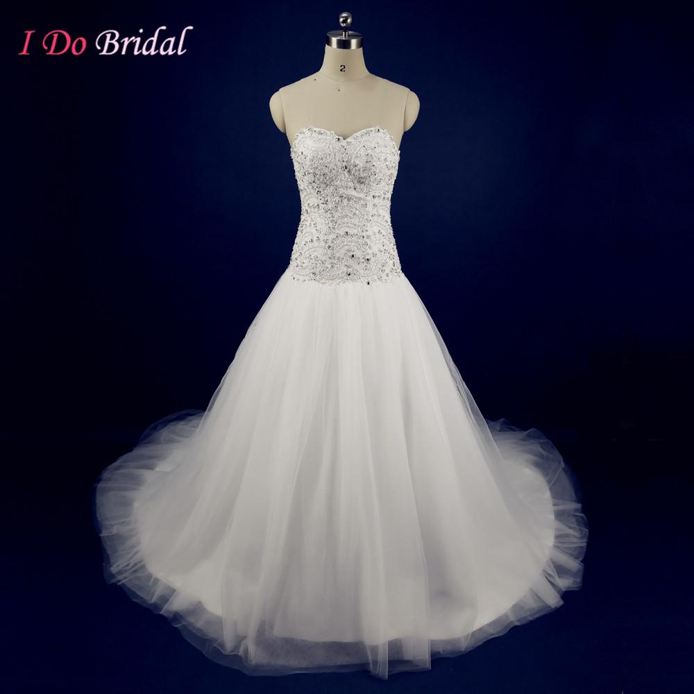 glitter wedding dresses photo - 1