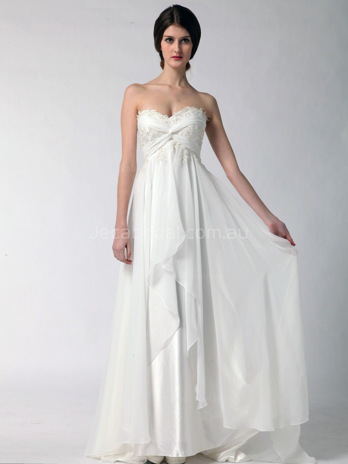 goddess wedding dresses photo - 1