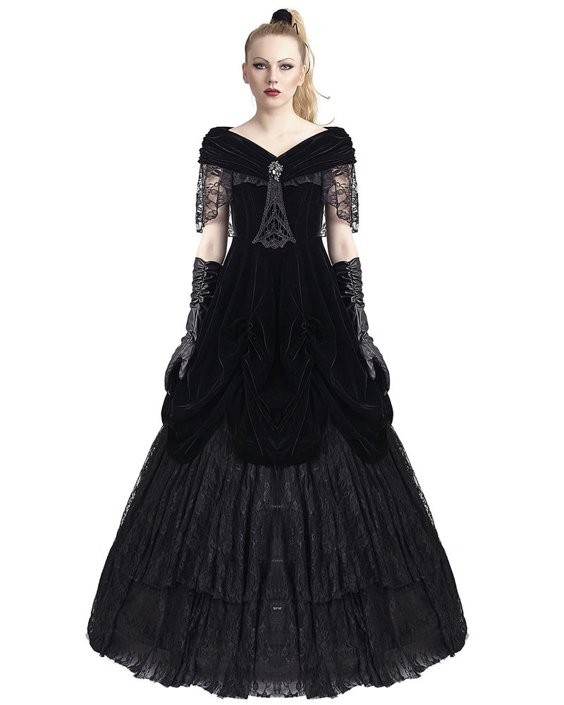 gothic victorian wedding dresses photo - 1