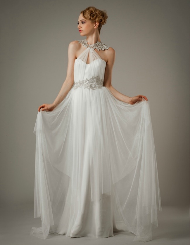 greek inspired wedding dresses photo - 1