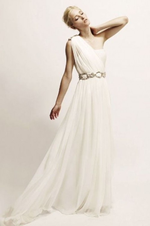 greek style wedding dresses photo - 1