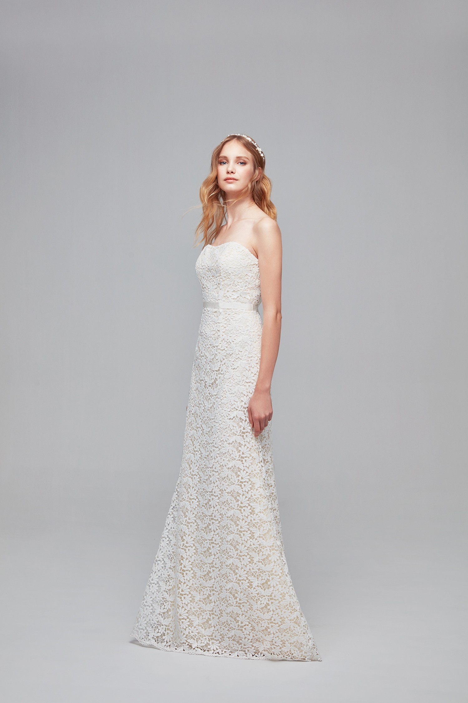 guipure lace wedding dresses photo - 1