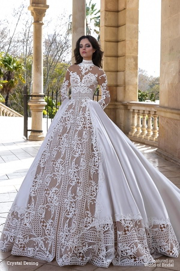 halter ball gown wedding dresses photo - 1