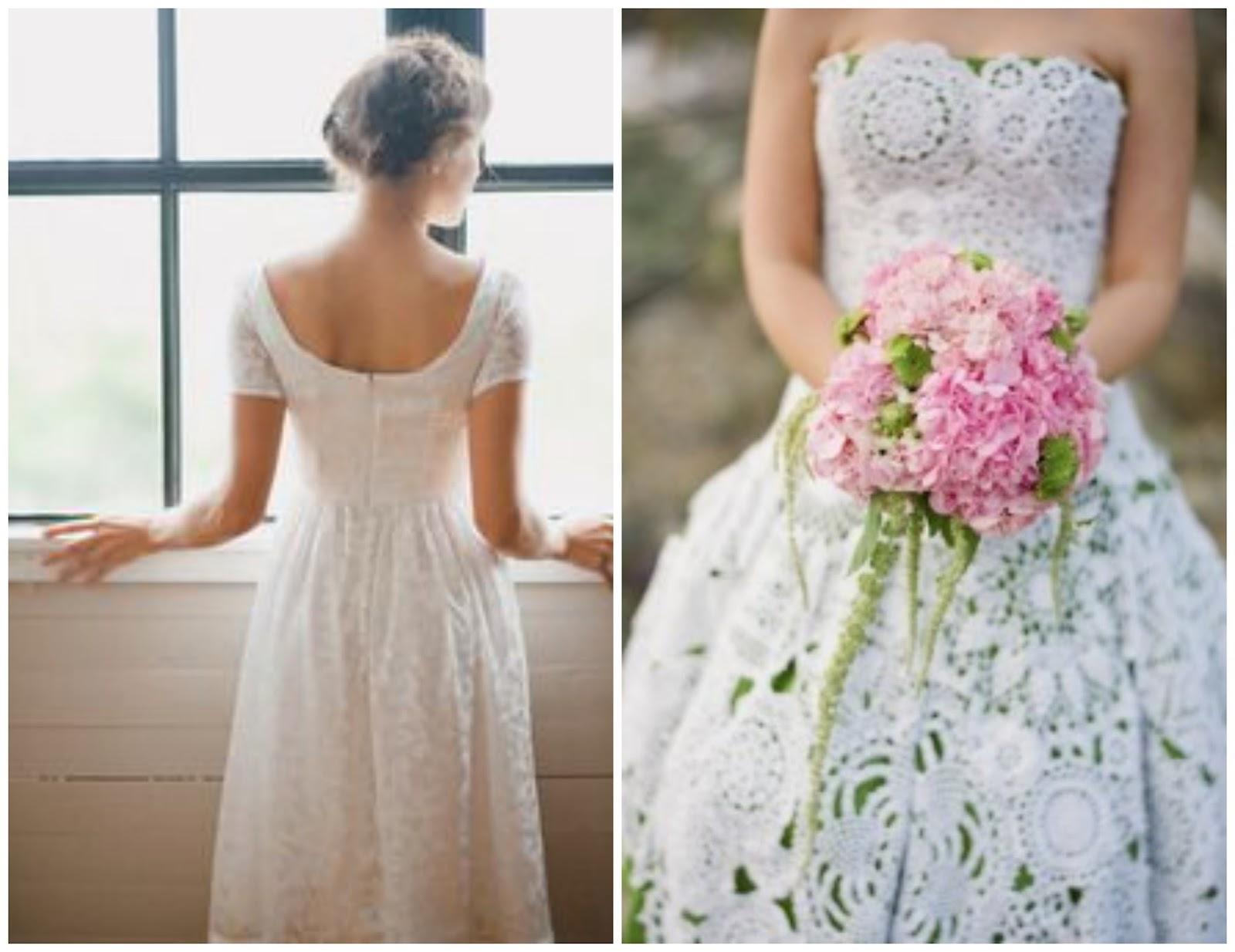 handmade wedding dresses photo - 1
