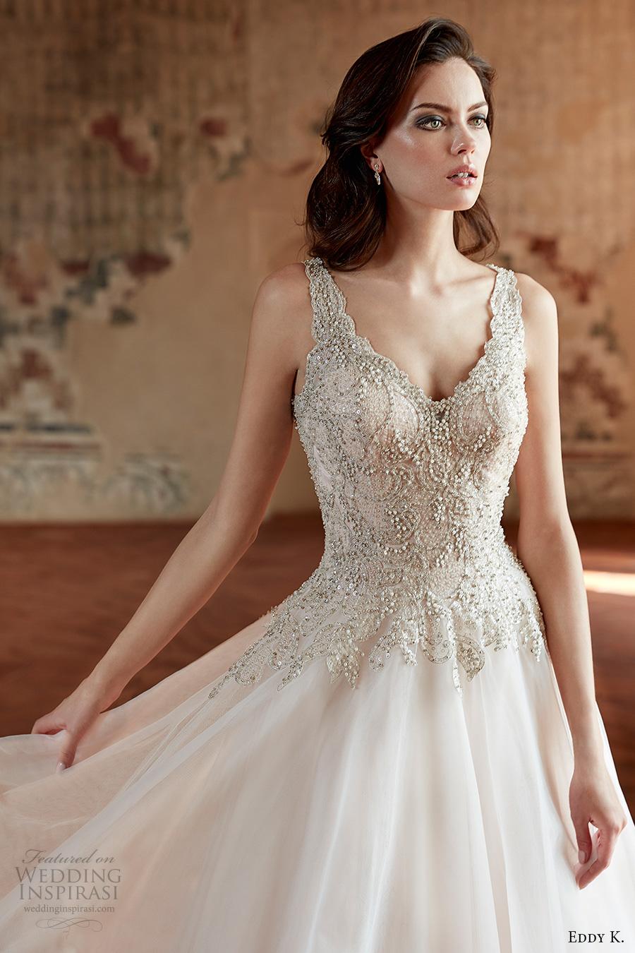 heavily beaded wedding dresses photo - 1