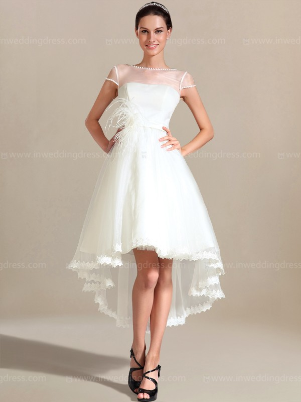 hi lo hem wedding dresses photo - 1