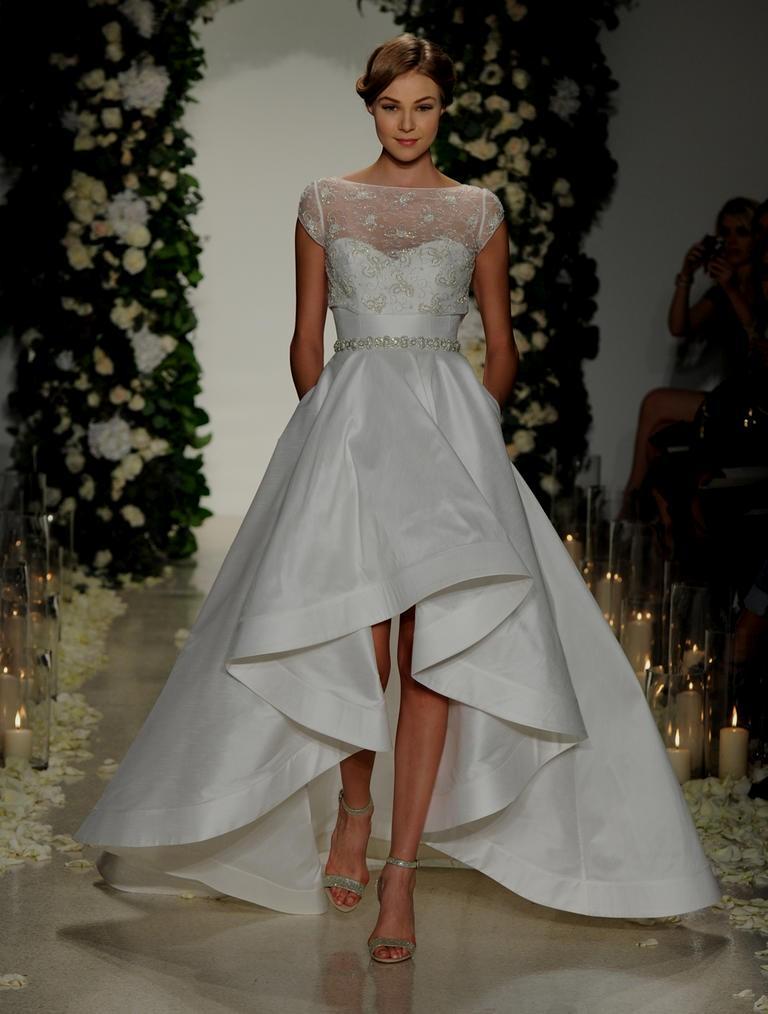 hi low wedding dresses photo - 1