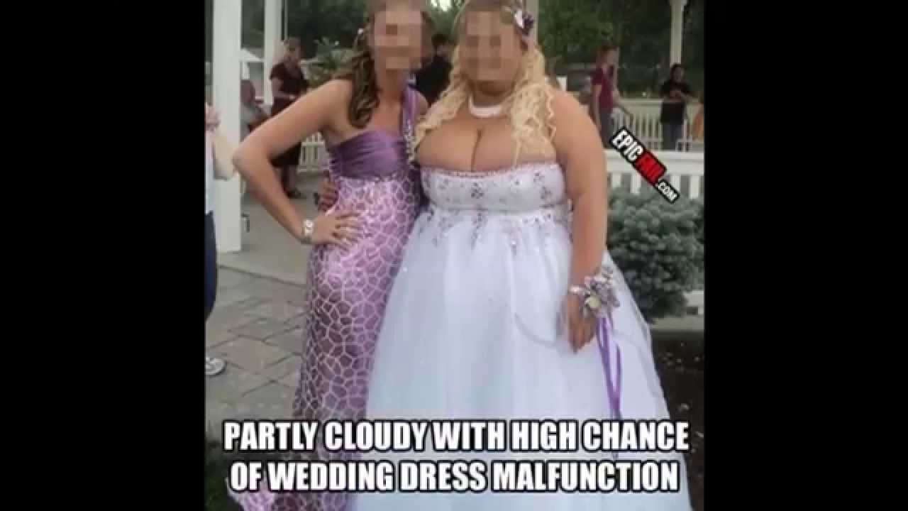 hideous wedding dresses photo - 1