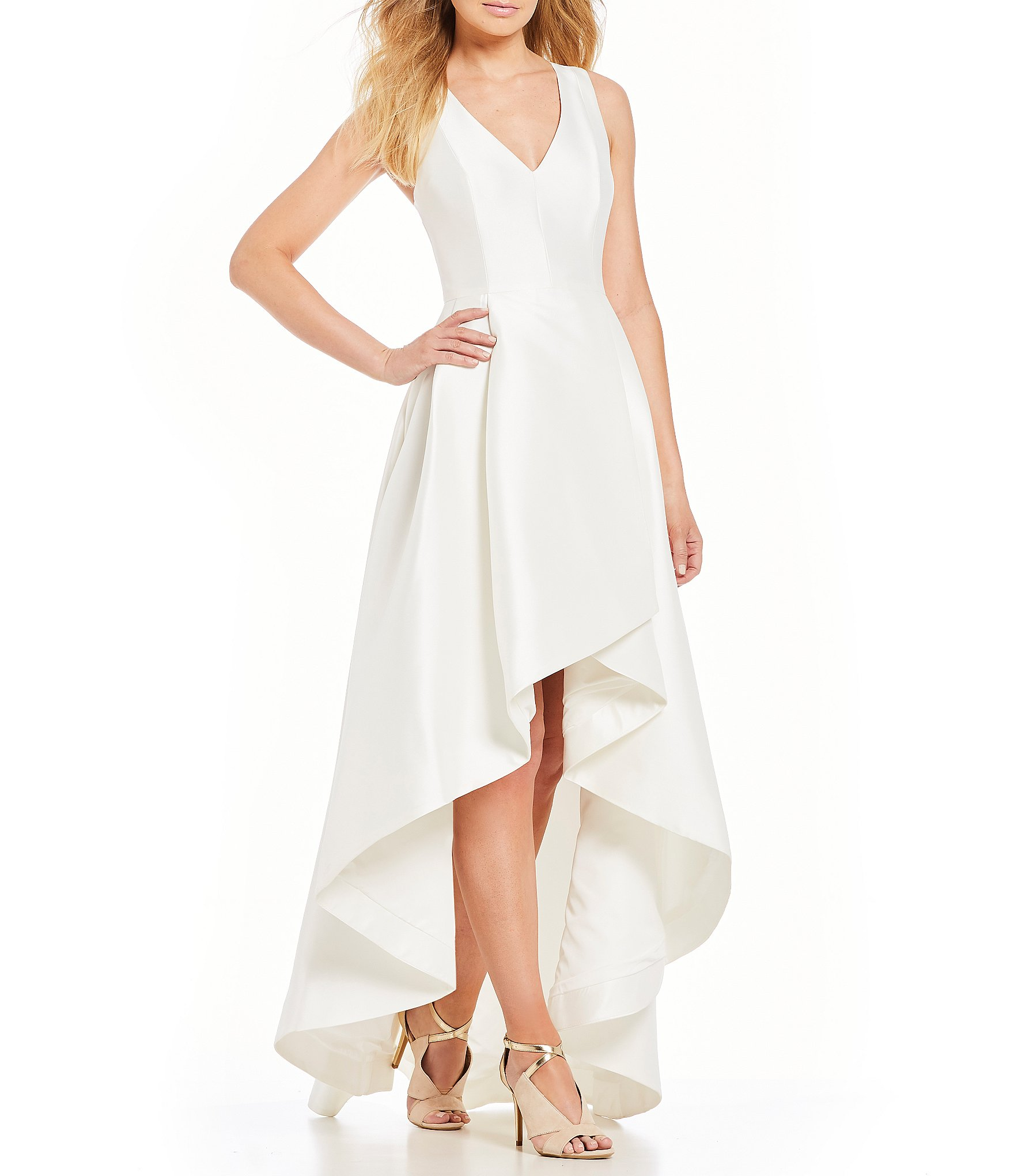 high low dresses wedding guest photo - 1