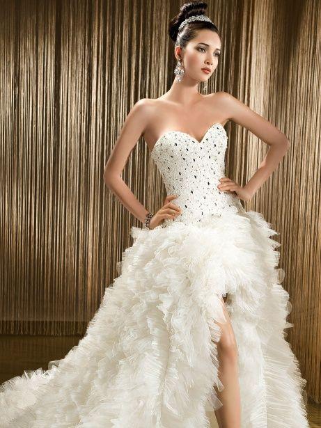 high low wedding dresses photo - 1