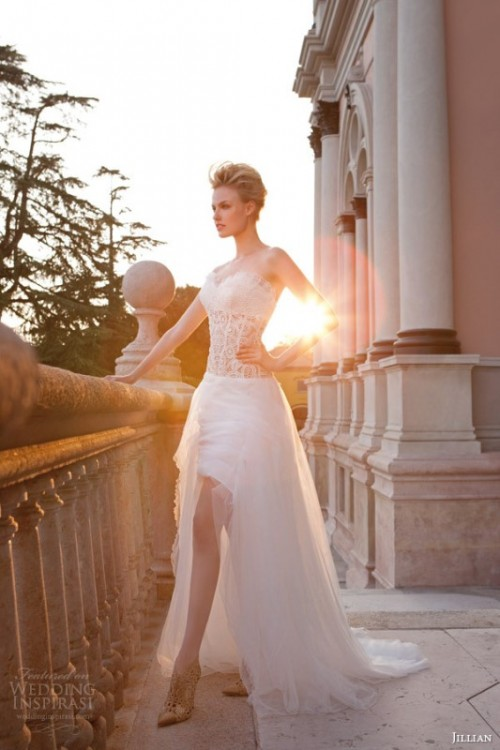 high low wedding dresses 2015 photo - 1