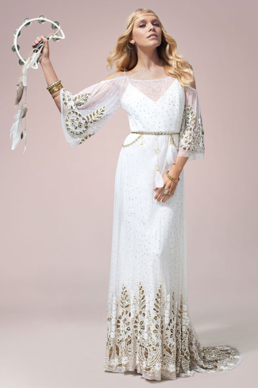 hippie wedding dresses photo - 1