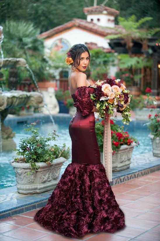 hispanic wedding dresses photo - 1