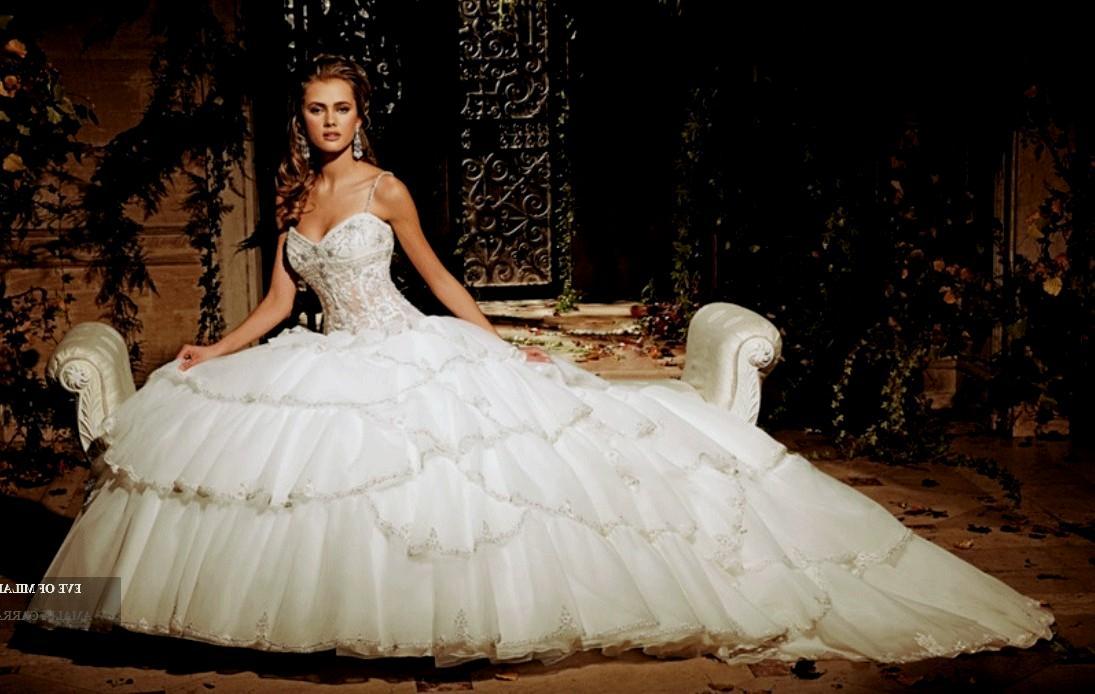 huge ball gown wedding dresses photo - 1