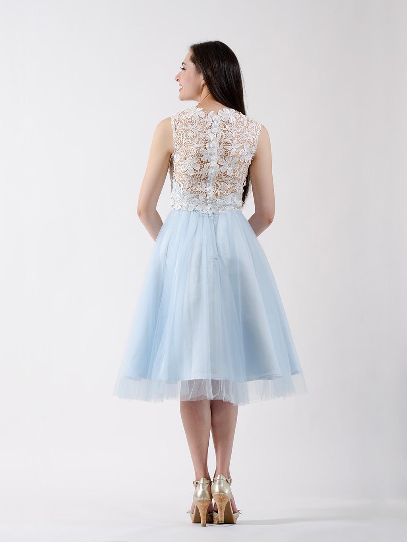 ice blue wedding dresses photo - 1