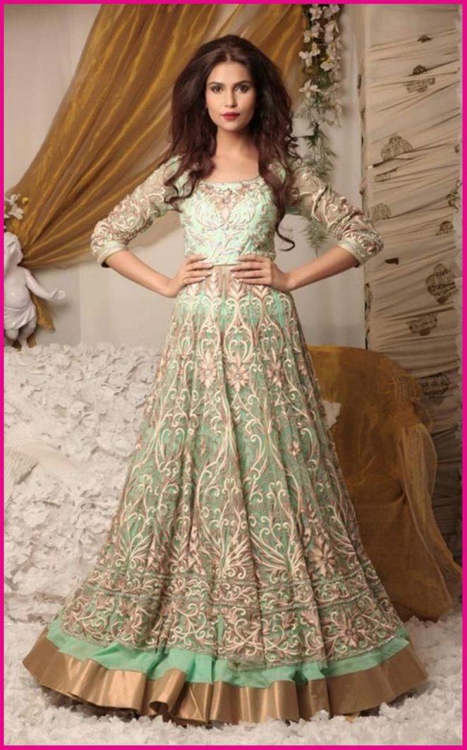 indian evening dresses photo - 1
