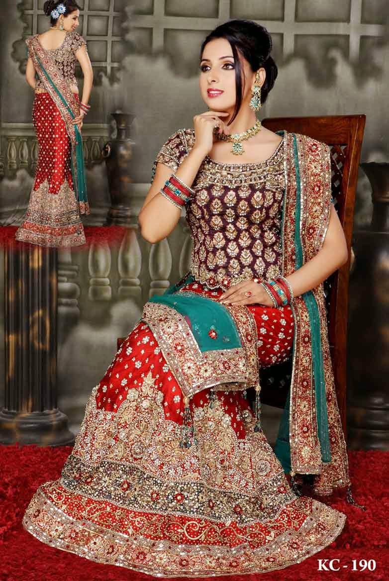 indian style dresses for a wedding photo - 1