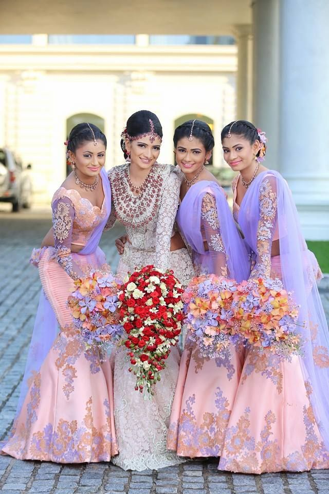 indian wedding bridesmaid dresses photo - 1