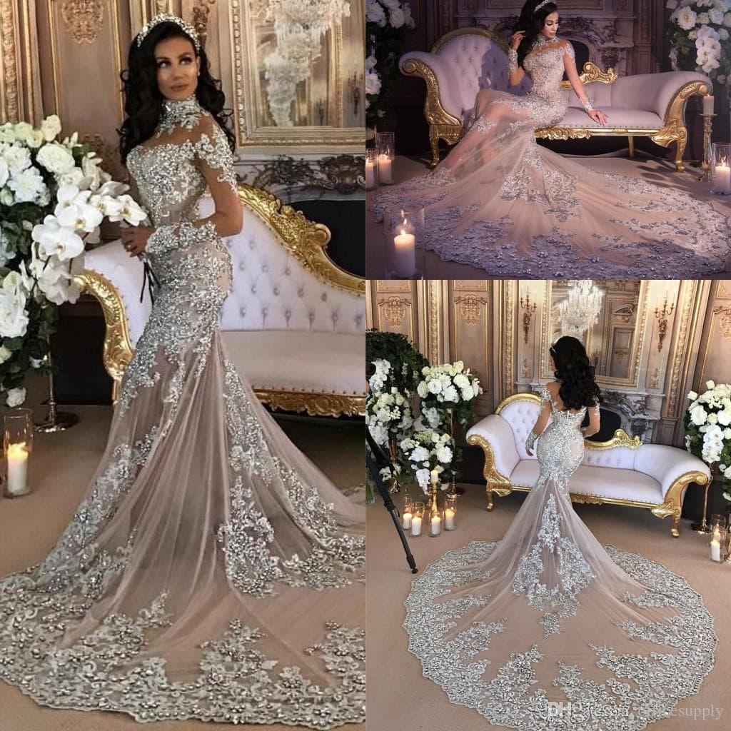 inexpensive mermaid wedding dresses photo - 1