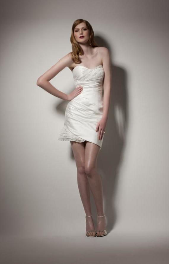 informal short wedding dresses photo - 1
