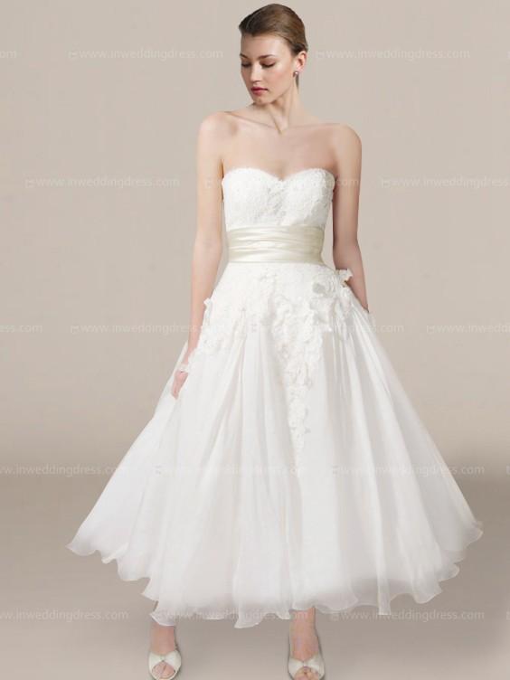 informal wedding dresses photo - 1