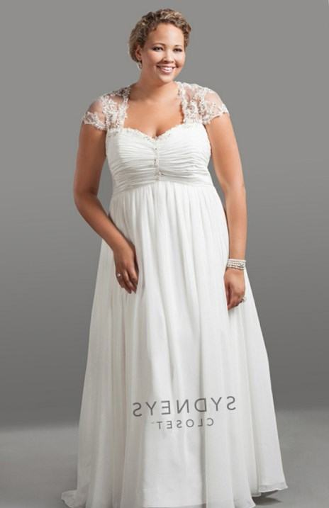 informal wedding dresses plus size photo - 1