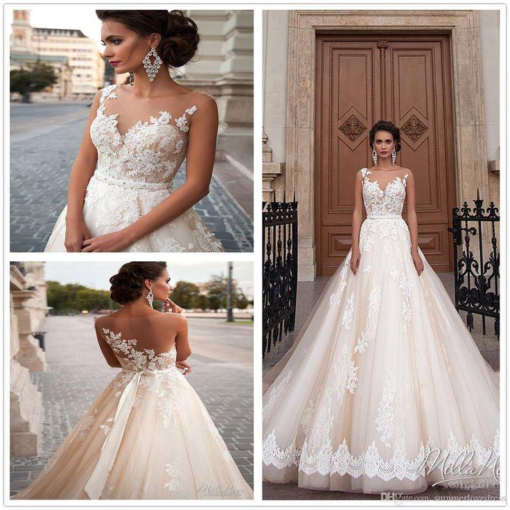 italian lace wedding dresses photo - 1
