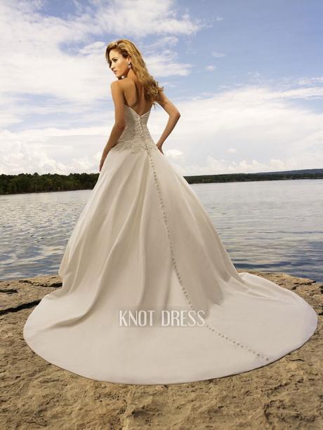 ivory beach wedding dresses photo - 1
