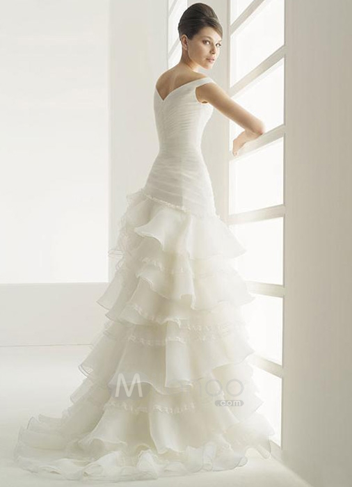 ivory informal wedding dresses photo - 1