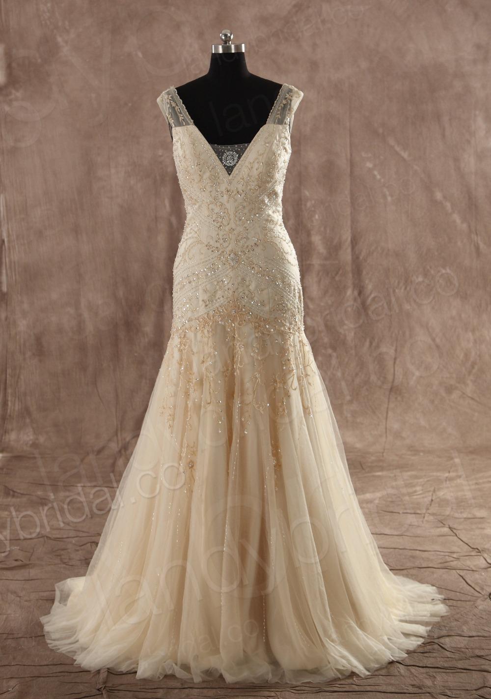 ivory vs white wedding dresses photo - 1