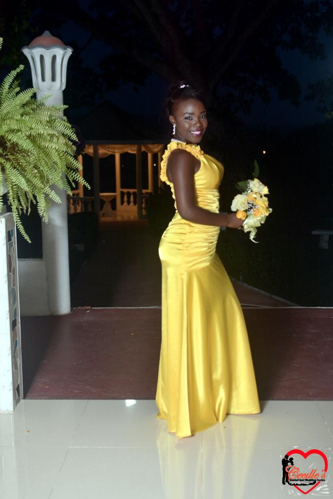 jamaican wedding dresses photo - 1