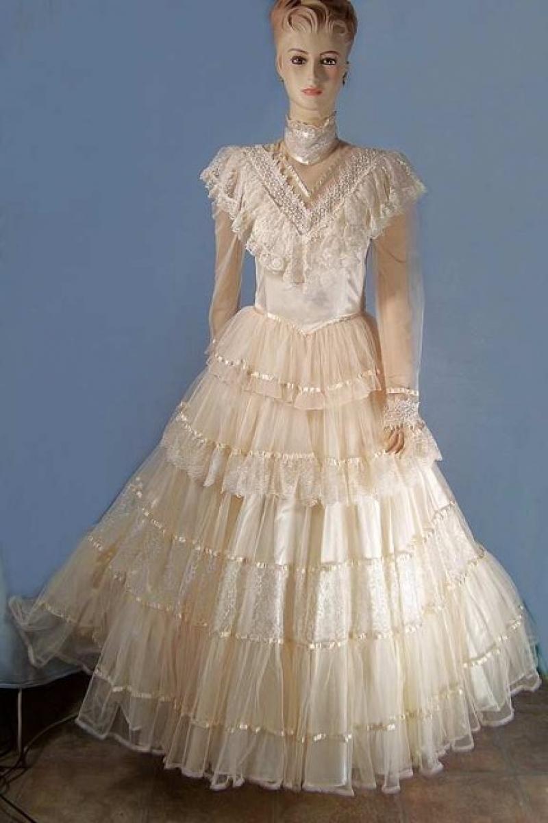jessica mcclintock wedding dresses outlet photo - 1