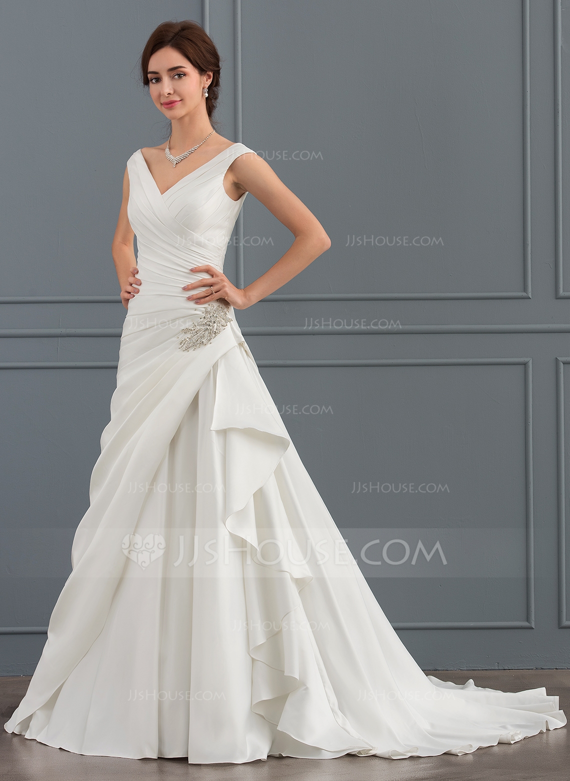 jjshouse short wedding dresses photo - 1